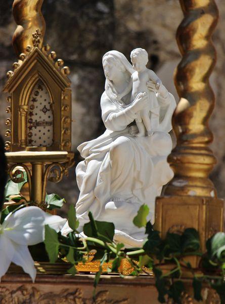 Reliquaire du Voile de la Vierge - 15 août 2018