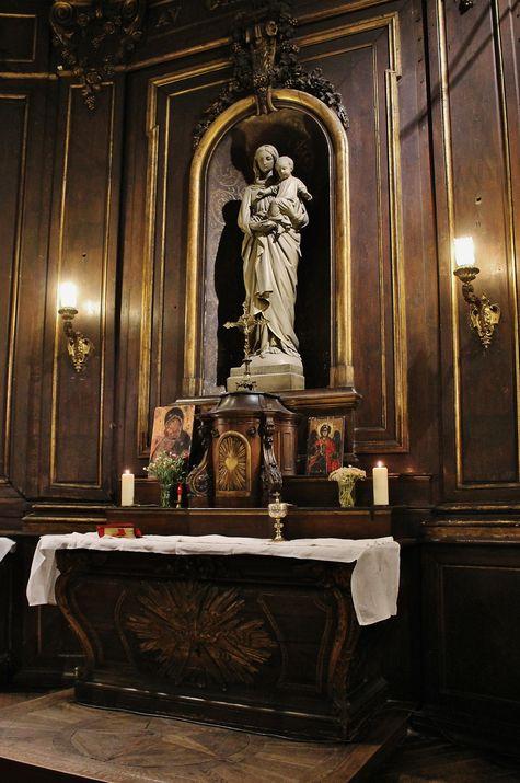 autel de la chapelle de l'Assomption