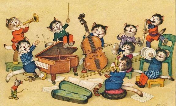 orchestre de chats