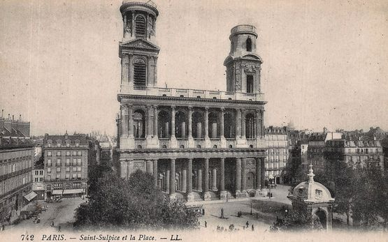 Paris église Saint-Sulpice