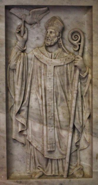 Bas-relief Saint Remi - détail maître-autel Saint-Rémy de Provence