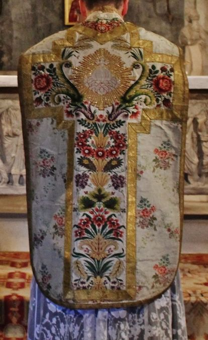 Chasuble Louis XVI Tarascon