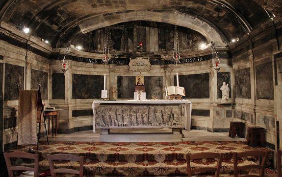 Crypte de Sainte Marthe - Tarascon
