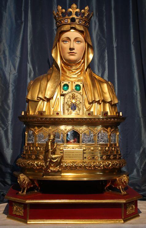 Reliquaire du chef de Sainte Marthe offert par Louis XI