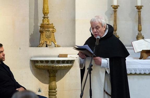 Prédication du Rd Père Pic chapelle expiatoire 20 janvier 2019