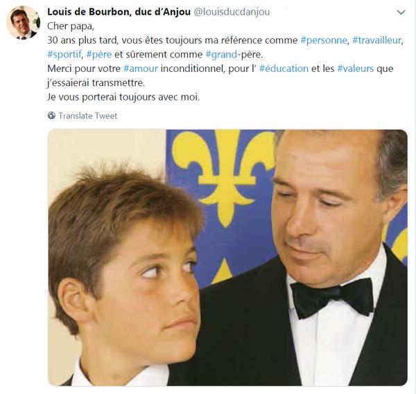 tweet royal du 29 janvier au soir