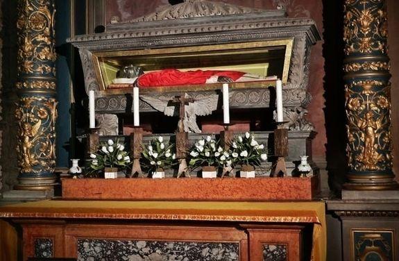Cathédrale de Faenza - châsse de Saint Pierre Damien
