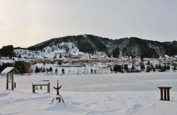 Saint-Martial et son lac gelé 3 février 2019