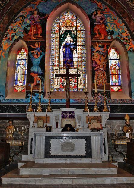 Collégiale Notre-Dame, Le Val - mercredi des cendres