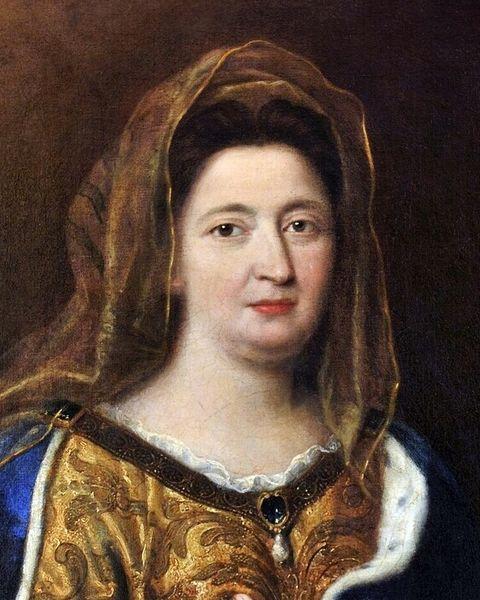 Mignard - Madame de Maintenon - détail 1