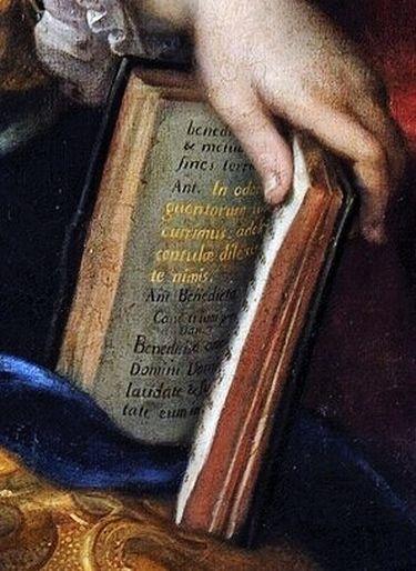 Mignard - Madame de Maintenon - détail 3