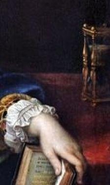 Mignard - Madame de Maintenon - détail 4