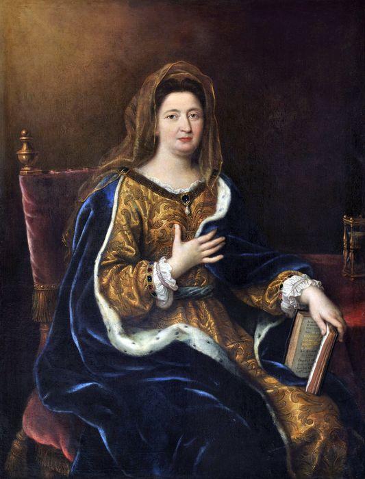 Pierre Mignard - Madame de Maintenon représentée en Sainte Françoise Romaine 1694