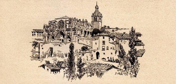 Saint-Antoine l'Abbaye - gravure