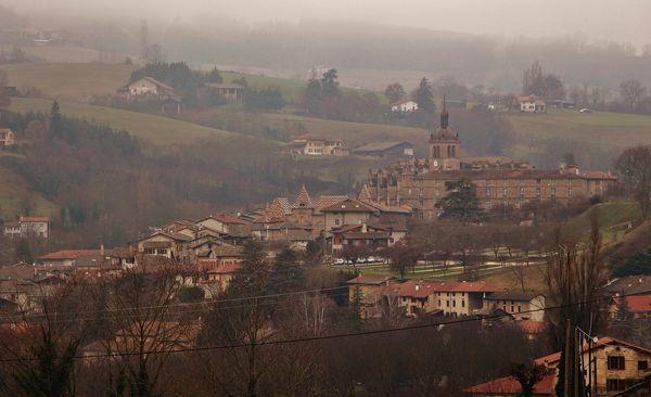 Saint-Antoine l'Abbaye, vue générale