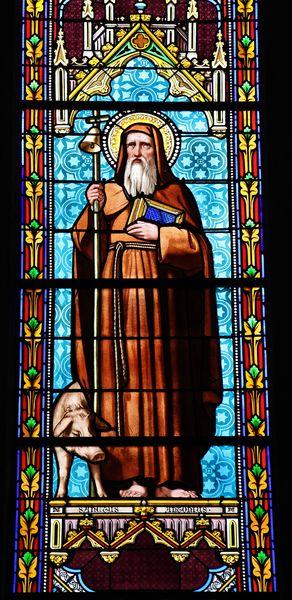 Vitrail de Saint Antoine
