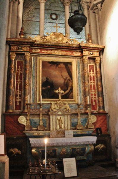 autel de la rencontre de Saint Paul et Saint Antoine