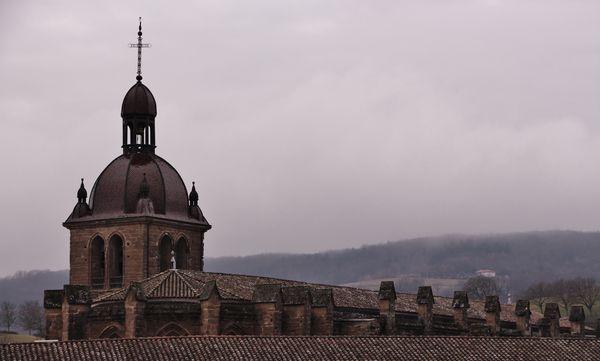 Clocher de l'abbatiale Saint-Antoine