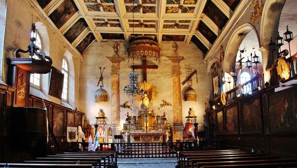 Chapelle des pénitents blancs du Puy - intérieur