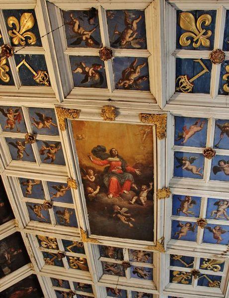 chapelle des pénitents blancs - plafond