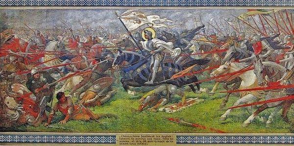 18 juin 1429 - bataille de Patay