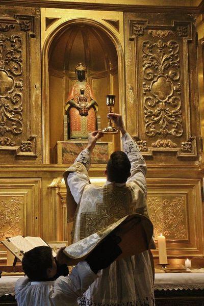 Messe de l'Ascension - chapelle des reliques