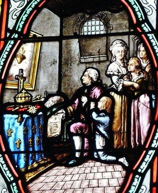 Voeu de Louis XVI - église du Sacré-Coeur de Douarnenez