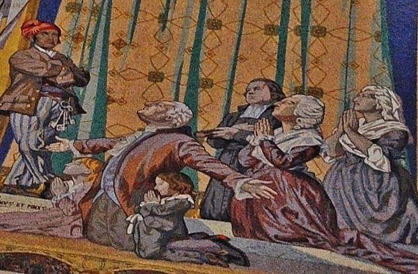 Vœu de Louis XVI - basilique de Montmartre