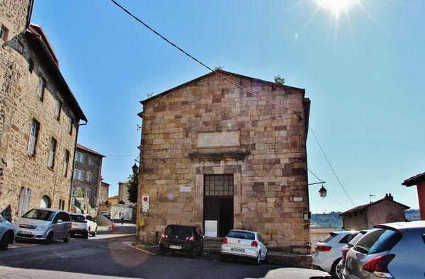 Ancienne chapelle de la Visitation du Puy - extérieur