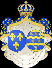 armoiries de la Reine Marie-Marguerite