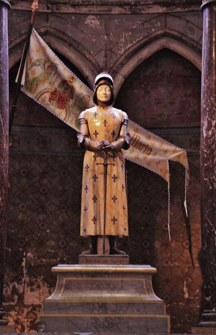 Jeanne au Sacre 17 juillet 1429