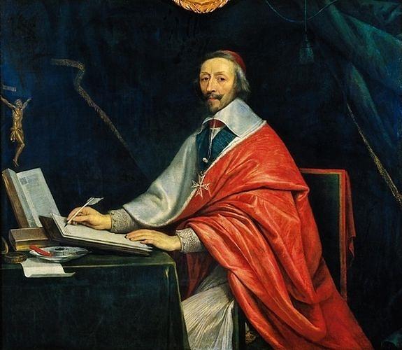 Le cardinal de Richelieu écrivant - Philippe de Champaigne