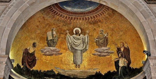 Basilique du Mont Thabor - mosaïque