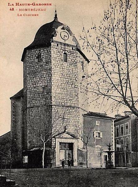 clocher de Montréjeau - vue ancienne