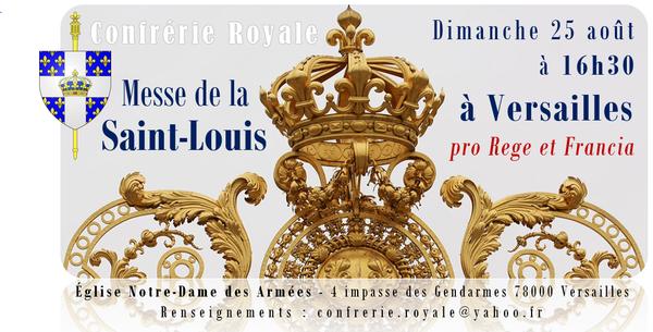 Messe de la St-Louis 2019 Versailles