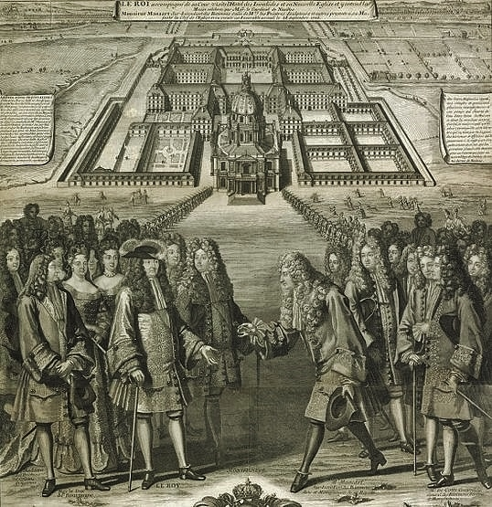 Visite de Louis XIV à l'Hôtel des Invalides