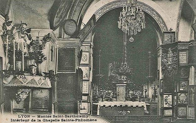 Chapelle Ste Philomène état antérieur