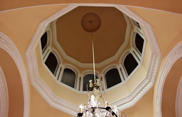 coupole de la chapelle