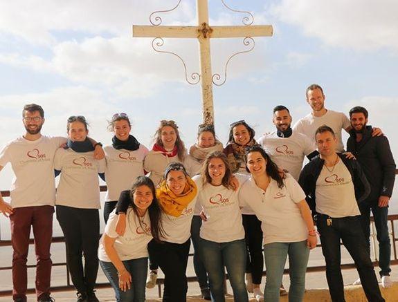 Jeunes en mission avec SOS Chrétiens d'Orient avec Jérôme Cochet