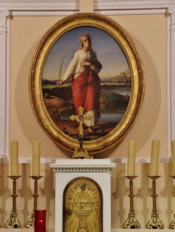 Le tableau de l'autel