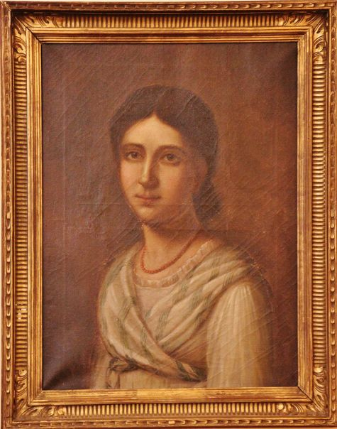 Portrait de Pauline jeune fille