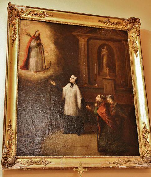 Saint Jean-Marie Vianney et Sainte Philomène