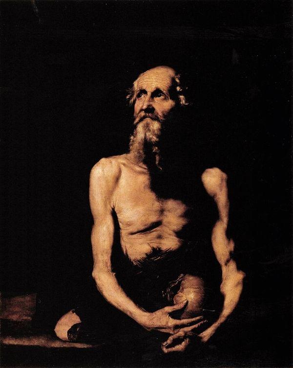 Saint Paul ermite - José de Ribera 1647