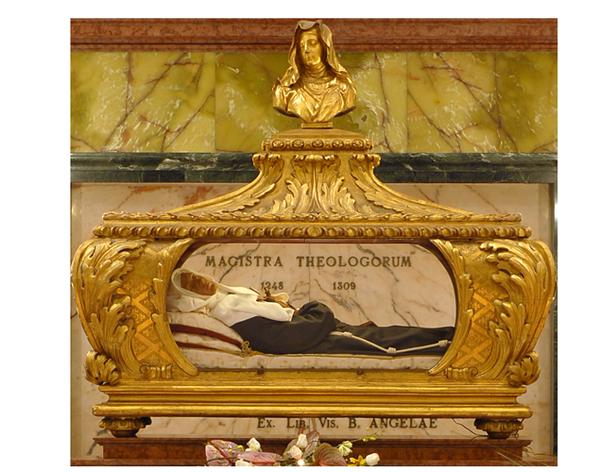 Sainte Angèle de Foligno - châsse