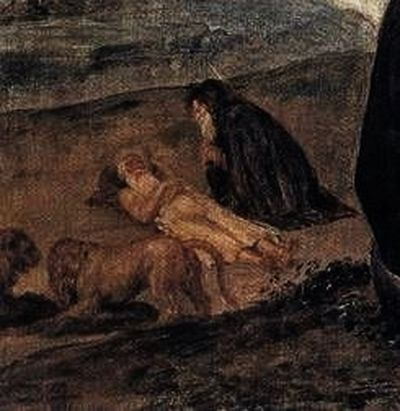 Velasquez - Détail - funérailles de Saint Paul