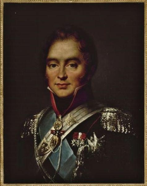 Duc de Berry en 1820 par Jean-François Thuaire