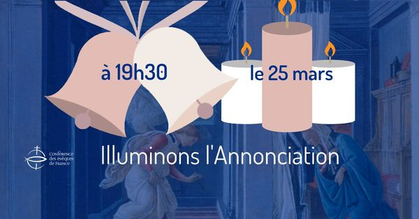 illuminons l'Annonciation