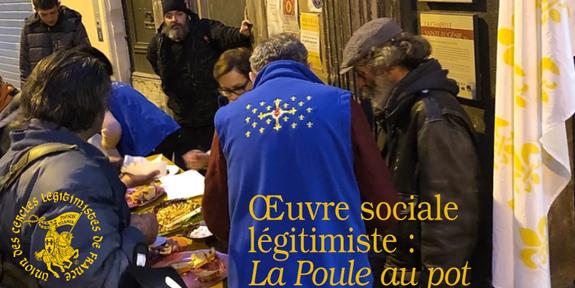 La Poule au pot - Cercle légitimiste de Nîmes