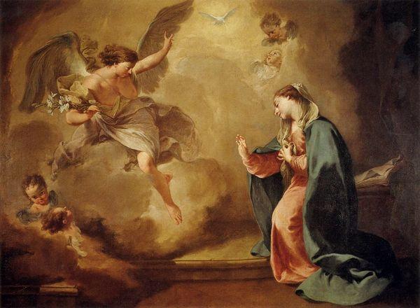 Pittoni Giambattista - Annonciation 1758