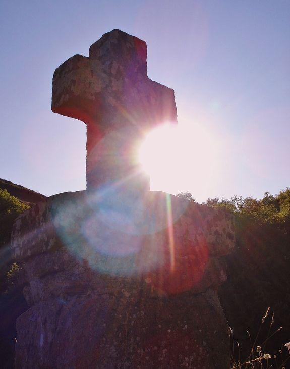 Croix de pierre à Saint-Martial
